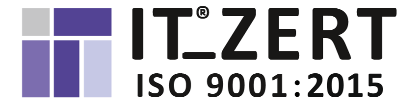 IT Zert 9001 Zertifikat